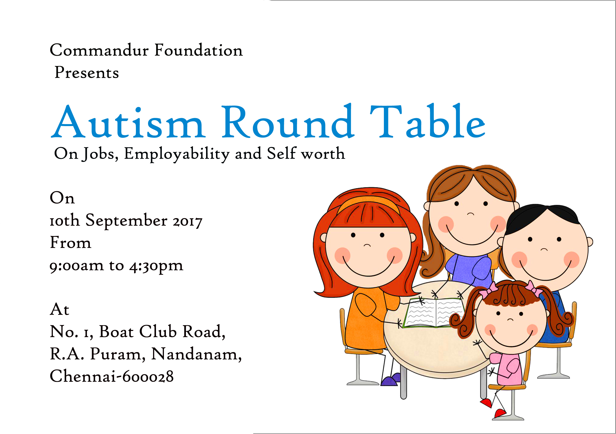 Round Table Jobs.Autism Round Table On Jobs Employability And Self Worth
